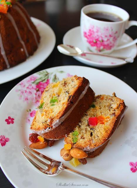 Wielkanocna Babka Keksowa - Przepis - Słodka Strona