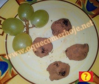 Receita de trufa de uva verde