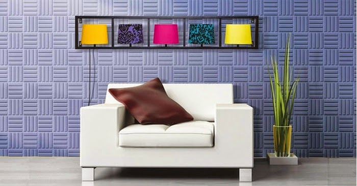 3D decorative wall panels ideas for modern living room 2017