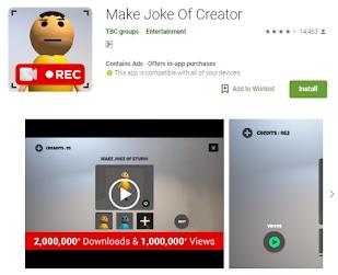 Make Joke Of Creator