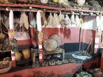 32 Replica of Adivasi Houses in Bhubaneswar Adivasi Mela 2017.