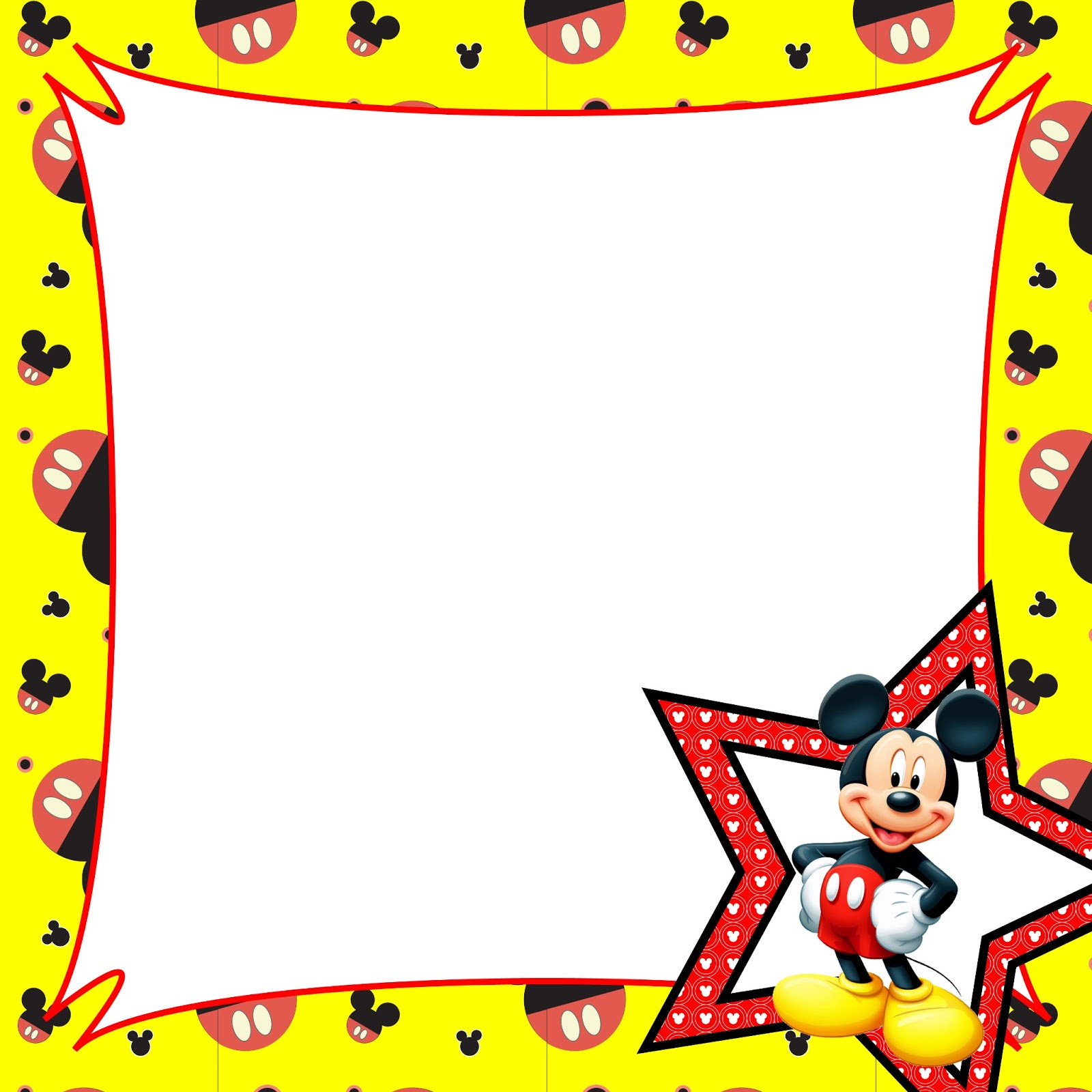 Mickey Mouse Border Cl...