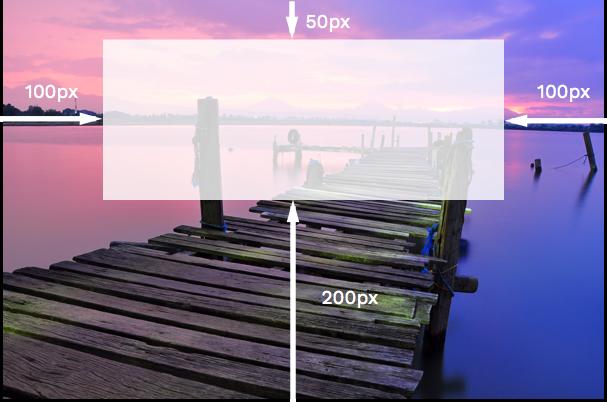 múltiples valores en border-image-slice