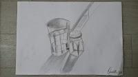 Glass & Salt Shaker - Sketch - Omer Toledano