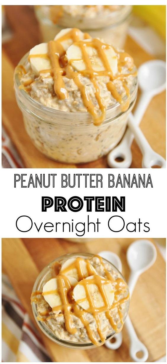 Peanut Butter Banana Oats
