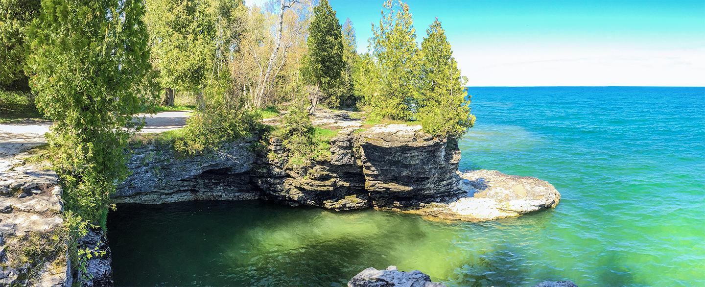 Wisconsin Explorer Cave Point Door County Park
