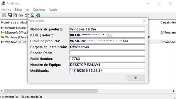 Cómo saber tu clave de producto de Windows 10