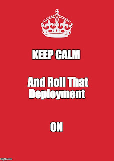 Kubernetes: Why won't that deployment roll?