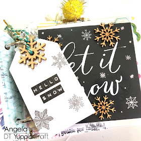 December Daily 2017 by Angela Tombari for Yuppla Craft DT