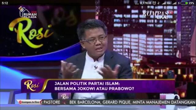 """Saat Rosi Menjebak Presiden PKS dengan Kata Kunci """"Jokowi"""""""