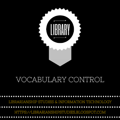 Vocabulary Control