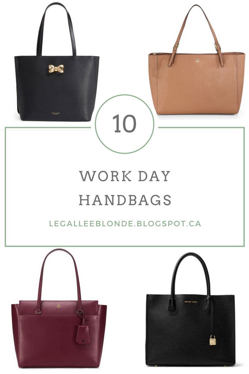 10 Best Work Day Handbags Legallee Blonde Tory Burch Large York Tote French Gray One Of The Most Important Items In Your Wear To Wardrobe Is Handbag Lets Be Honest We All Throw Way Too Much Stuff Our And Require