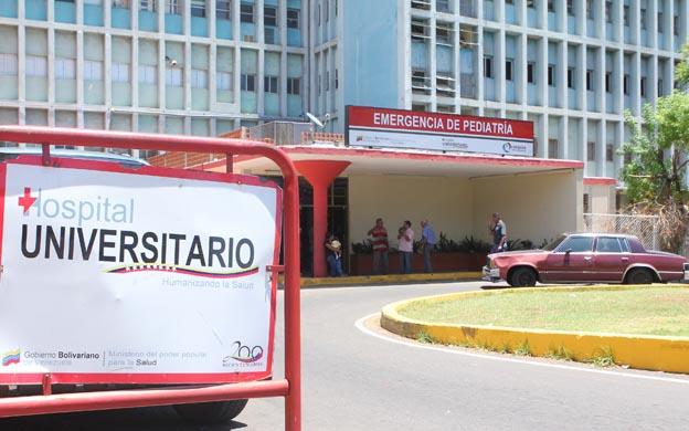 Quirófanos de hospital de Maracaibo cerrarán por contaminación
