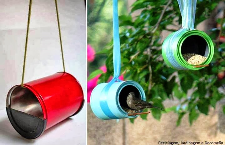 Manos Abiertas Cmo reutilizar las latas de aluminio