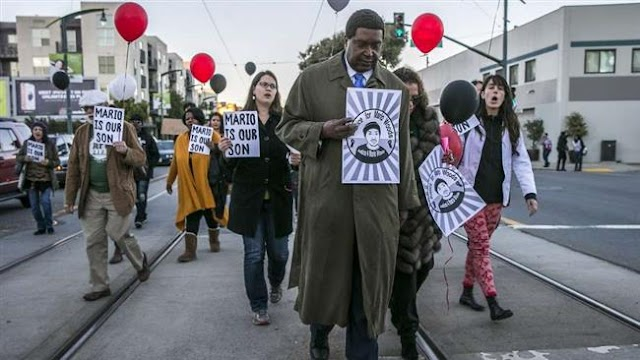 Protesters rally against police violence in San Francisco