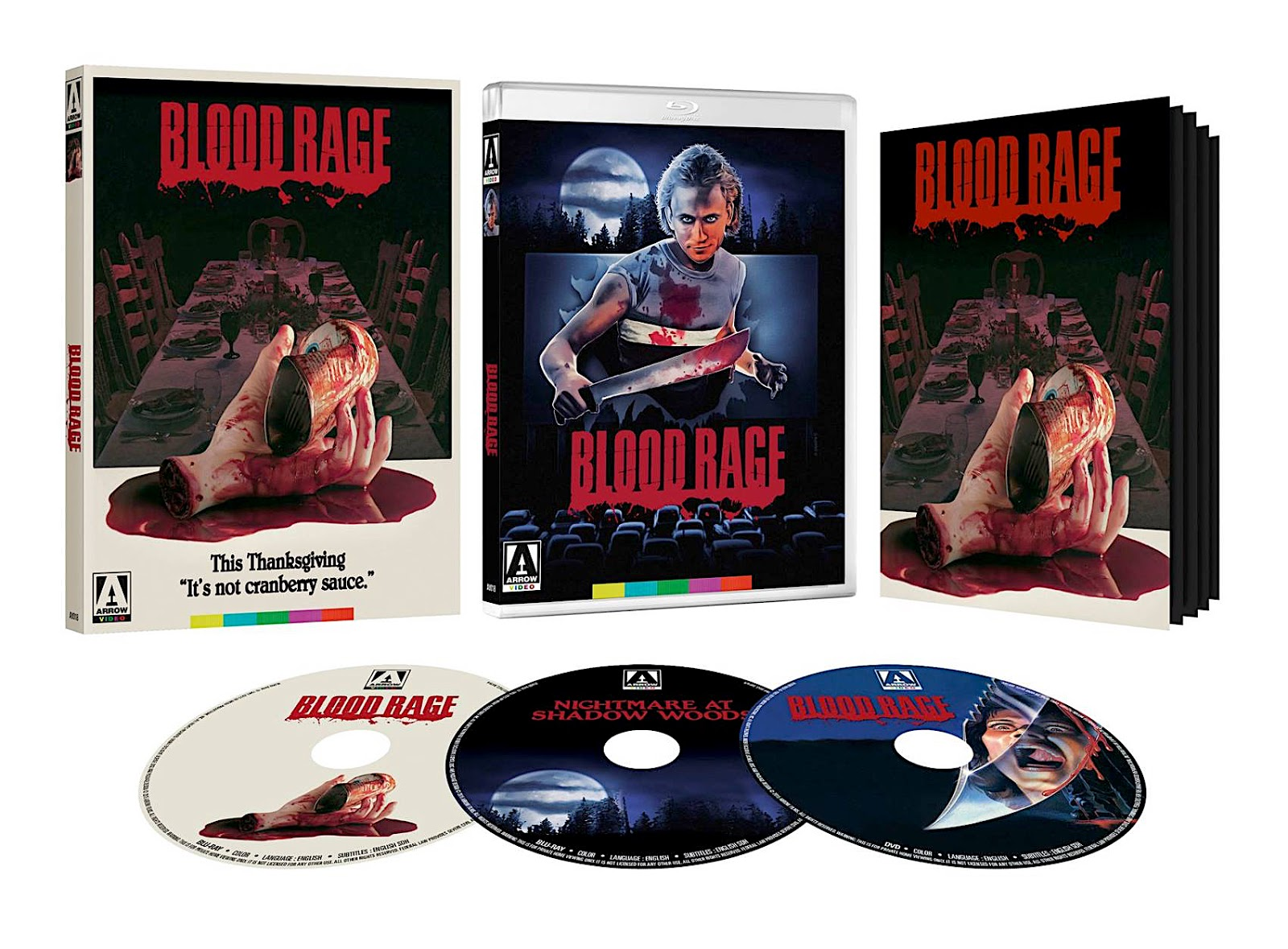 Blu-Ray And Dvd Covers Arrow Video Us Blu-Rays Blood -1967