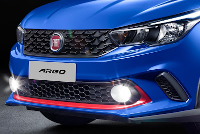 Fiat Argo Fog light