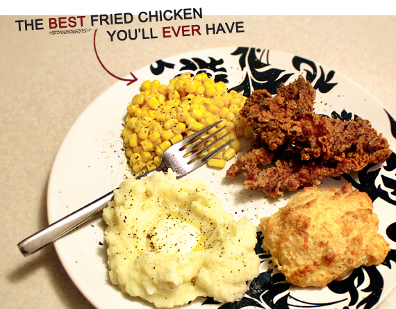 The Best Fried Chicken You'll Ever Have // Bubby and Bean