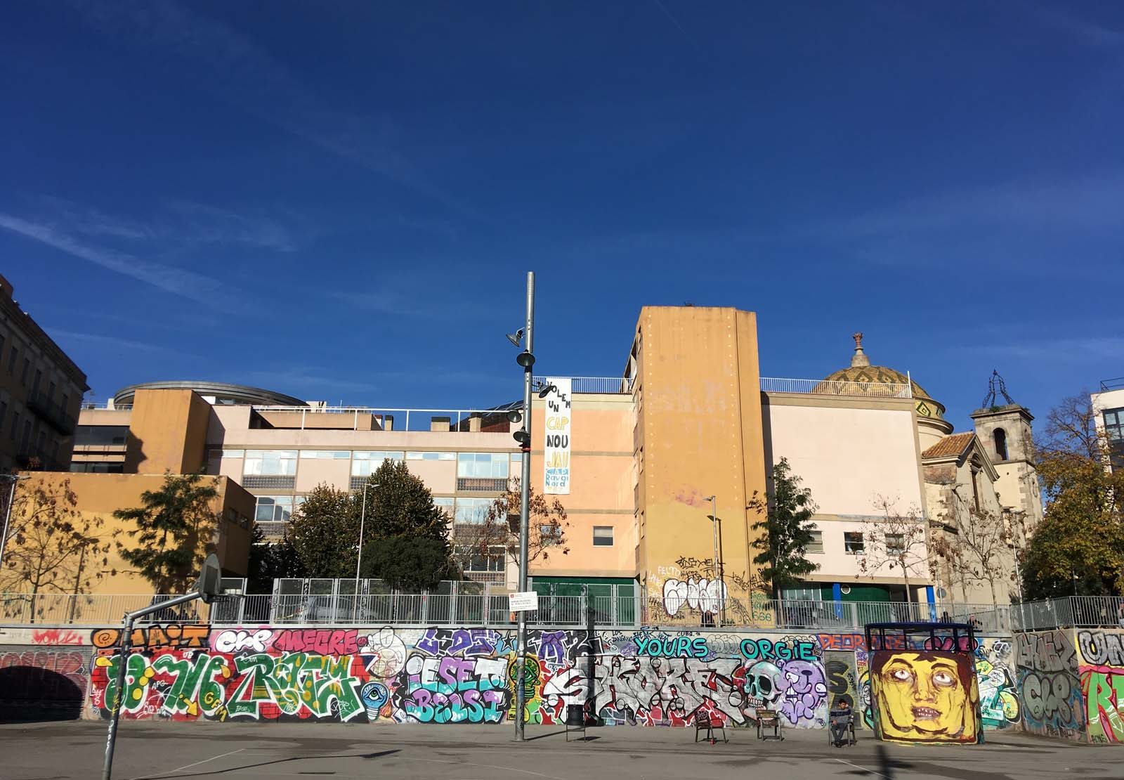 Plaça de Terenci Moix, Barcelona, 2018