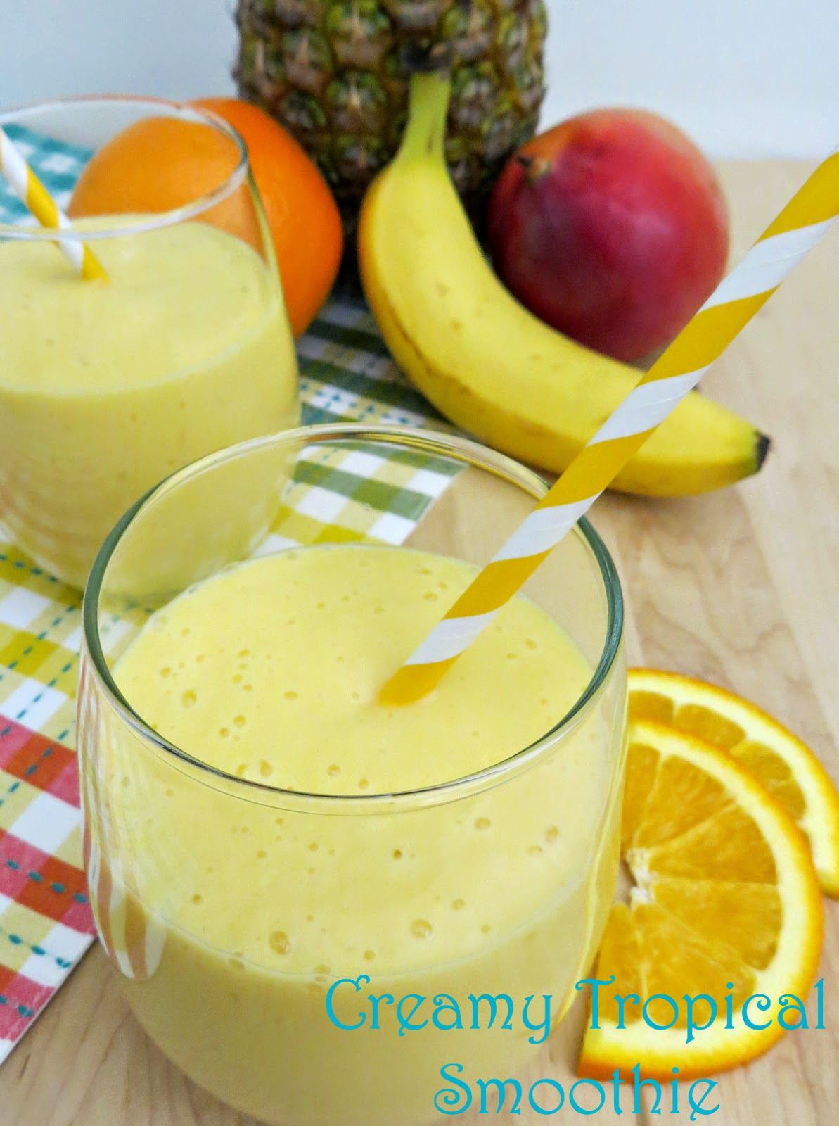 AnnMarie John: Creamy Tropical Smoothie #Recipe