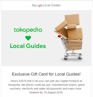 Tokopedia love Local Guides