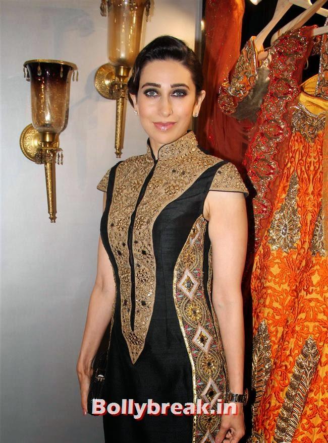 Karishma Kapoor, Celebs at Opening of Mayyur Girotra Couture