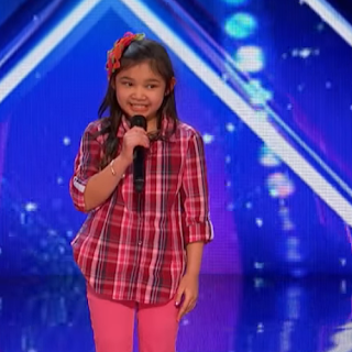 9-Year-Old Singer AGT Angelica Hale, Emily England