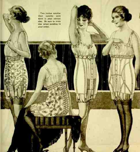 Lencería del Siglo XX
