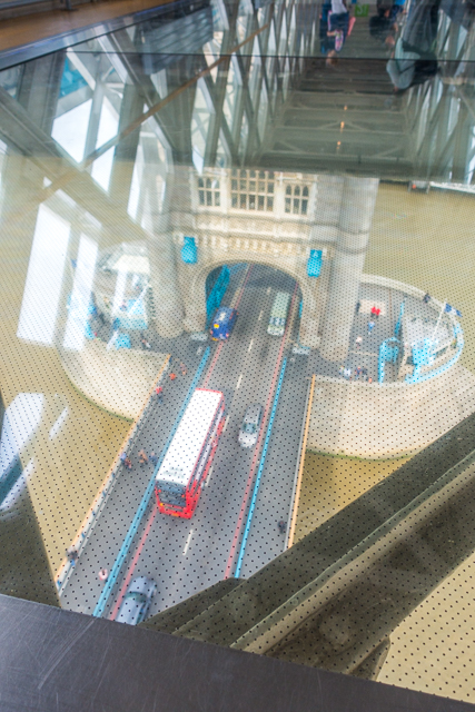 Glass Floor Tower Bridge - London, England