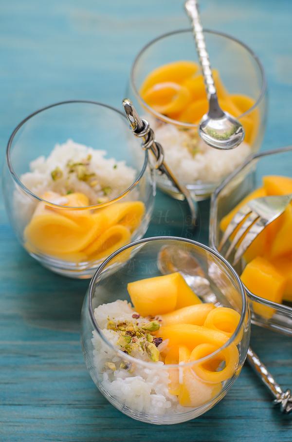 Mango Glutinous Rice Dessert