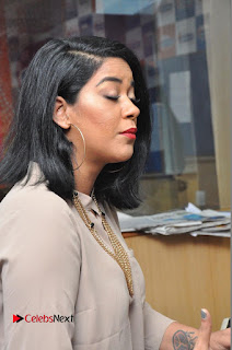 Actress Mumaith Khan Pictures in Jeans at Radio City  0024.JPG