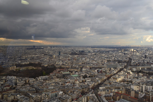 Paris from above (Montparnasse tower)