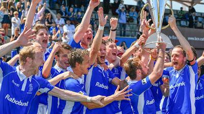 HOCKEY HIERBA - Euro Hockey League masculina 2015/2016: Kampong regresa a lo alto de Europa 30 años después