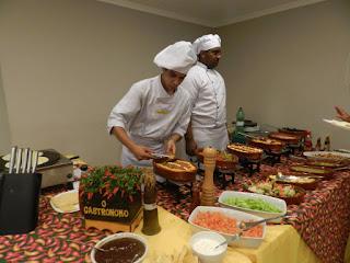 foto de buffet a domicilio em fortaleza