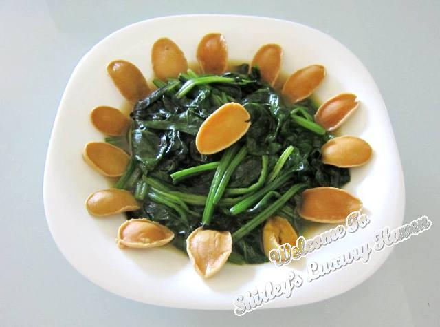 limpet recipe baby abalone with spinach