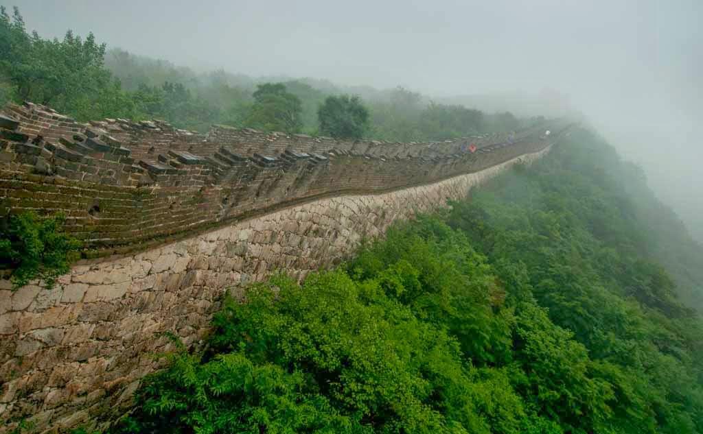 Lateral de la Gran Muralla China