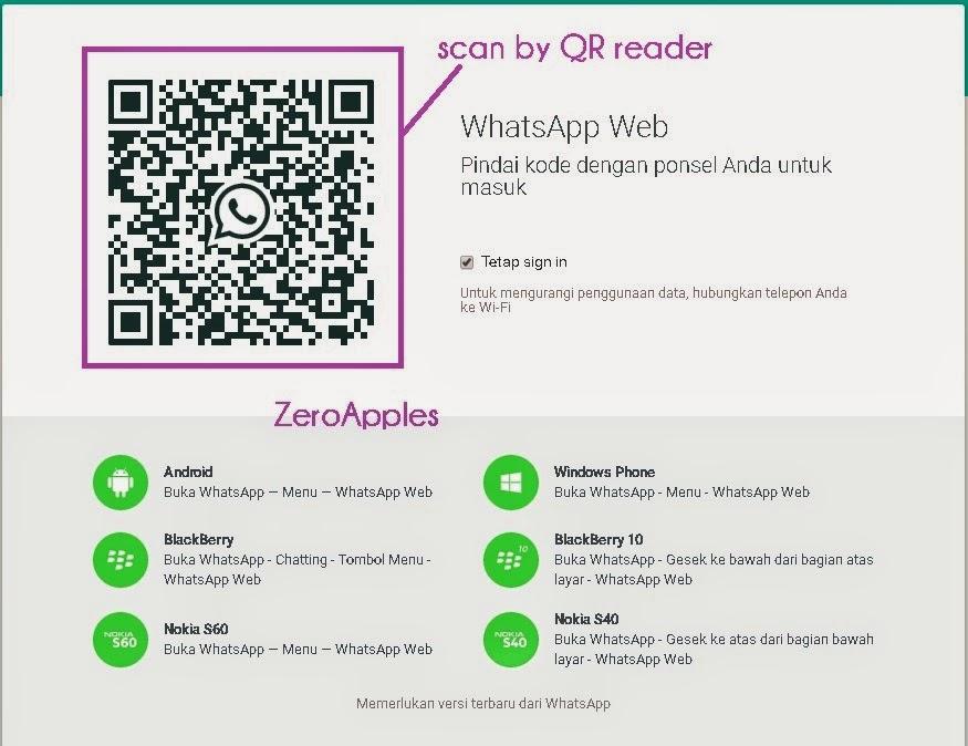 Cara menggunakan Whatsapp Web di iPhone