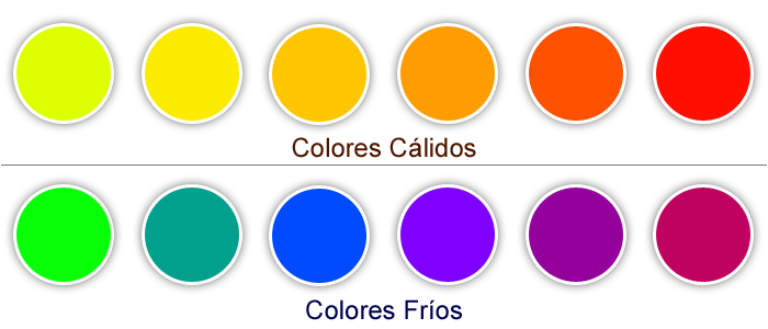 OS SAPOCONCHOS 3: COLORES CÁLIDOS Y FRIOS.