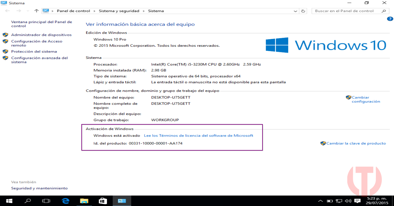 Windows 10 pro 64 bits mega