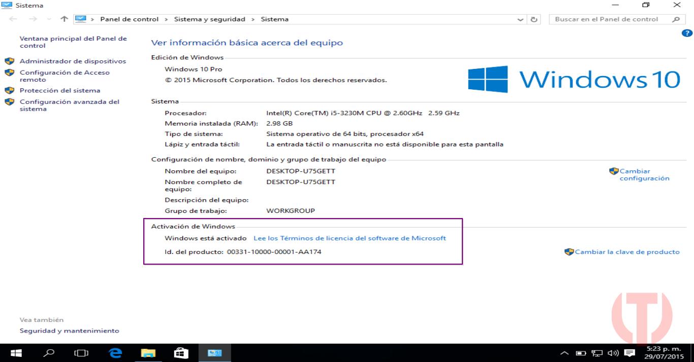 Windows 10 PRO mega 2016 gratis