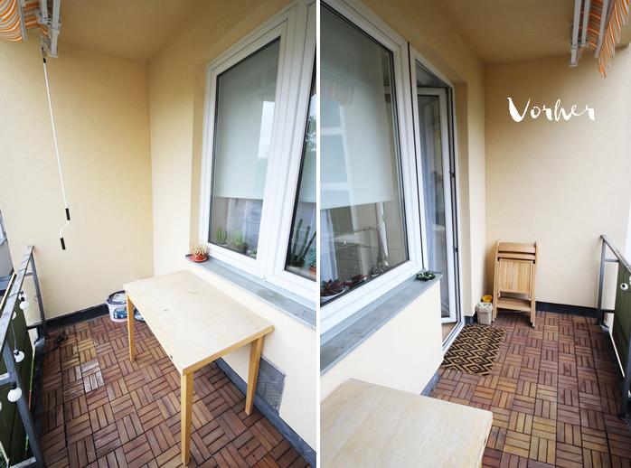 kleiner balkon ein makeover magnoliaelectric. Black Bedroom Furniture Sets. Home Design Ideas