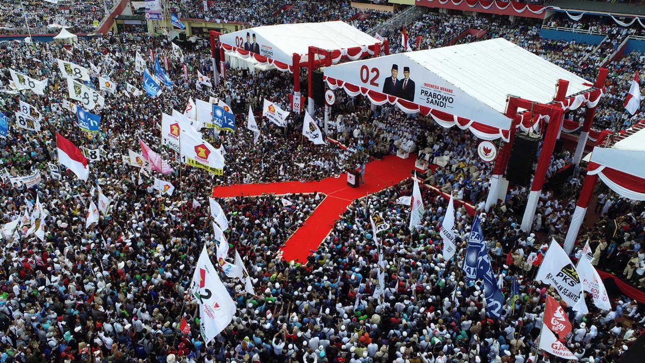 Membongkar Kejanggalan Pemberitaan Kampanye Prabowo di Sidoarjo