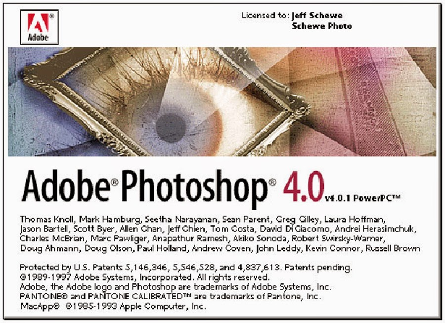 Adobe Photoshop 4.0.1 PowerPC Mac