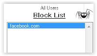 block list website