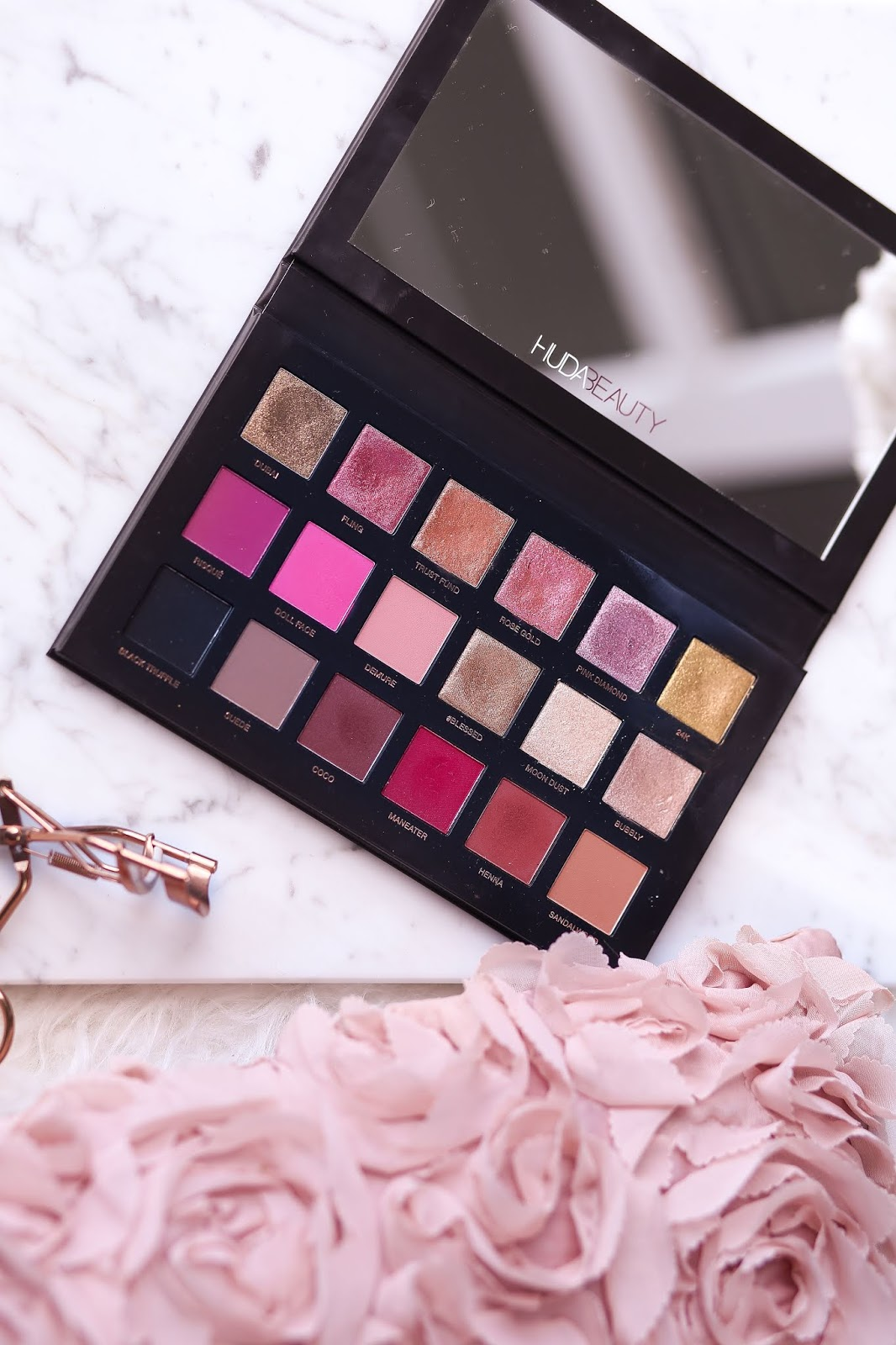 huda beauty rose gold palette remastered 2018 opinie