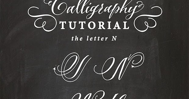 Antiquaria Calligraphy Tutorial