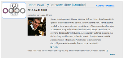 Odoo: PYMES y Software Libre