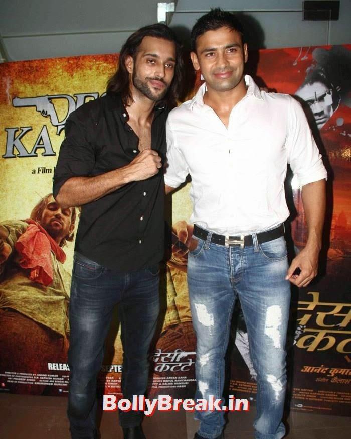 Akhil Kapur, Sangram Singh, Sasha Agha, Shibani Kashyap new pics from 'Desi Kattey' Special Screening