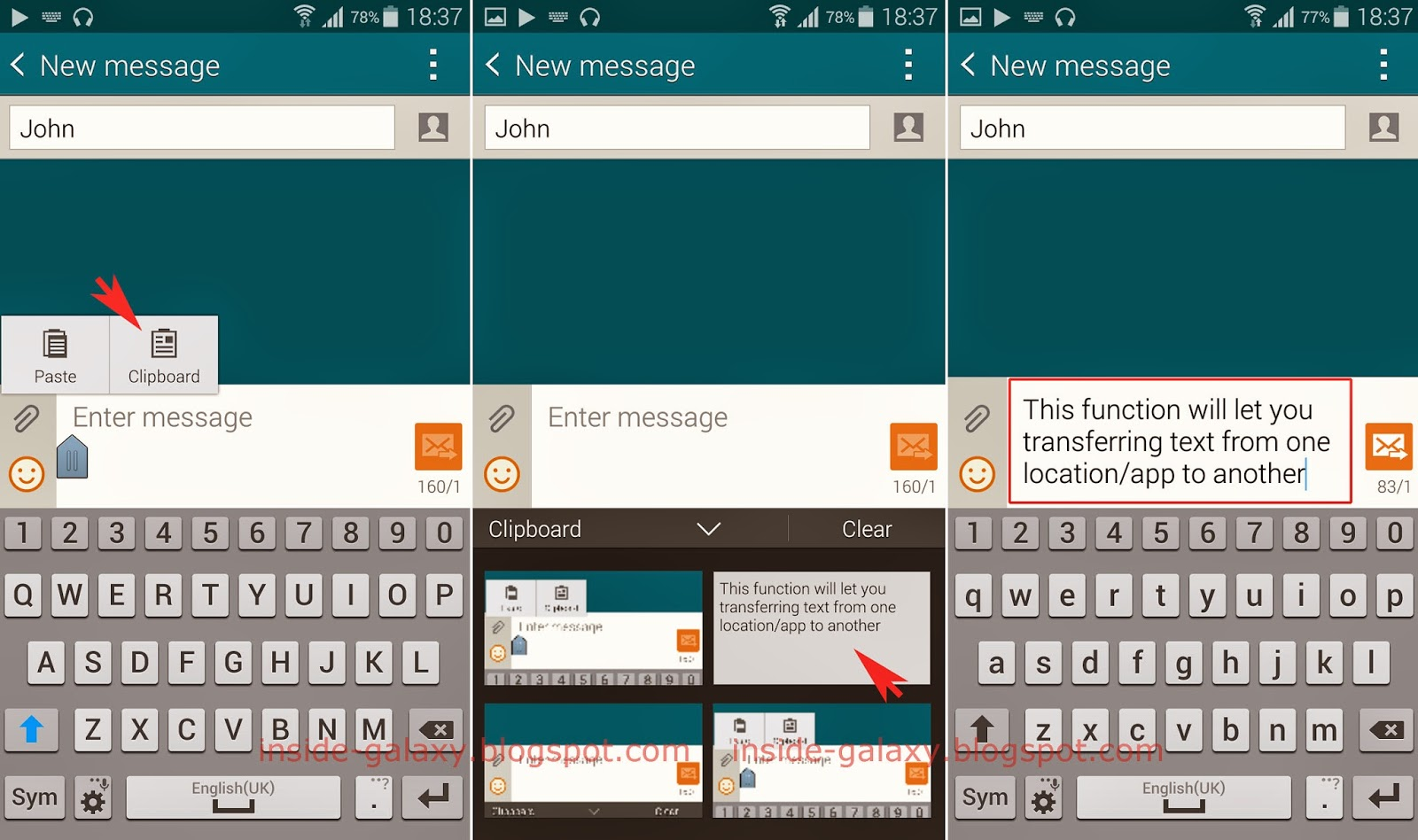 Samsung Galaxy S5: How to Access Clipboard in Android 4 4 2 Kitkat