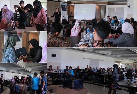 ASUS Zenbook Blogger Bengkulu Gathering 2019